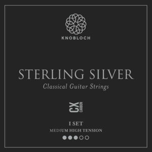 Knobloch Sterling Silver CX Carbon Medium High Tension