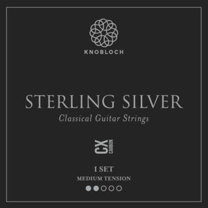 Knobloch Sterling Silver CX Carbon Medium Tension