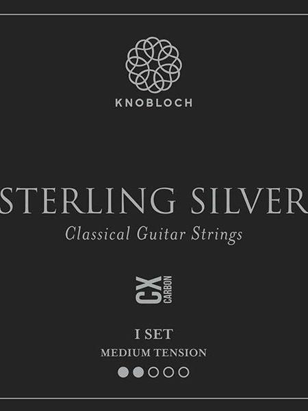 Knobloch Sterling Silver CX Carbon Medium Tension