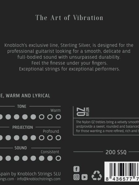 Knobloch Sterling Silver QZ Nylon Low Tension