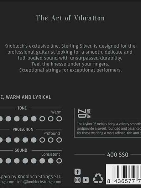 Knobloch Sterling Silver QZ Nylon Medium High Tension