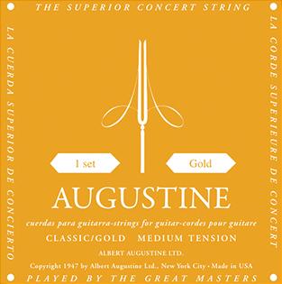 Augustine Classic Gold Medium Tension