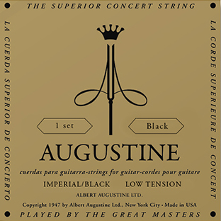 Augustine Imperial Black Low Tension