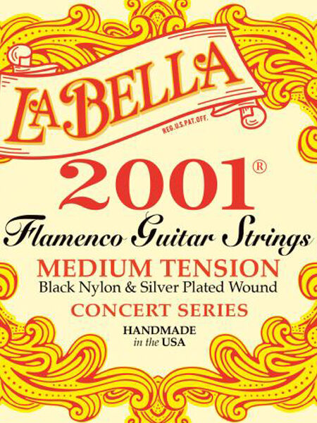 La Bella 2001 Flamenco Medium